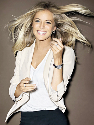 Pictures of Sienna Miller For Piaget