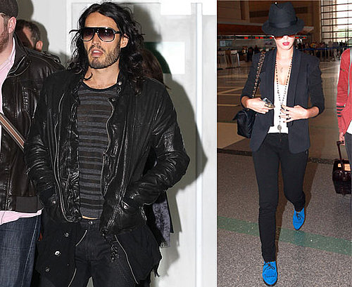 Pictures of Russell Brand Arriving in Australia for Get Him To the Greek Promotion, Teen Choice Awards Host Katy Perry at LAX