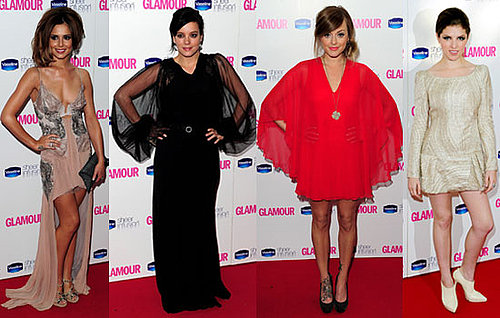 Pictures of Glamour Women of the Year Awards Cheryl Cole, Fearne Cotton, Lily Allen, Anna Kendrick, Zoe Saldana, Nicole Richie 2010-06-09 01:30:57