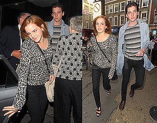 Pictures of Emma Watson and George Craig Seeing a Play in London