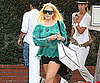 Slide Picture of Lindsay Lohan Shopping at Ron Herman in LA