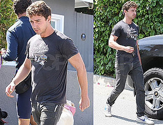 Pictures of Shia LaBeouf Outisde His LA Home
