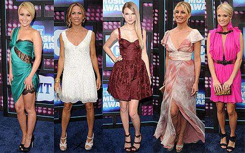 Pictures of Taylor Swift, Carrie Underwood, Nicole Kidman, John Mayer at 2010 CMT Music Awards 2010-06-10 16:00:20