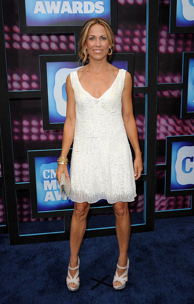 Sheryl Crow in Summer white.