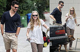 Pictures of Dominic Cooper and Amanda Seyfried