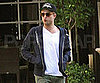 Slide Picture of Robert Pattinson Whistling in LA
