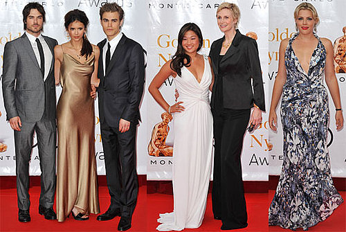 Pictures of Nina Dobrev, Paul Wesley, Ian Somerhalder, Busy Philipps, and Jane Lynch in Monaco 2010-06-14 17:00:12