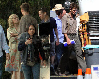 Pictures of Robert Pattinson Filming Water For Elephants With Ava And Deacon Phillippe
