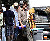 Slide Picture of Robert Pattinson on Water For Elephants Set