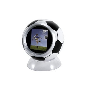 Soccer Ball Digital Photo Frame ($28)