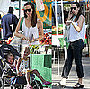 Pictures of Jennifer Garner, Violet and Seraphina Affleck in LA