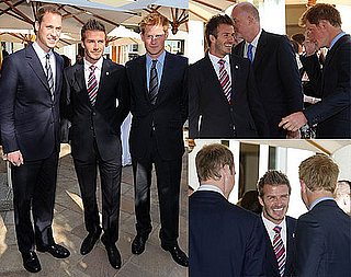 Pictures of David Beckham, Prince William, And Prince Harry Together in South Africa During The World Cup 2010-06-21 02:00:30