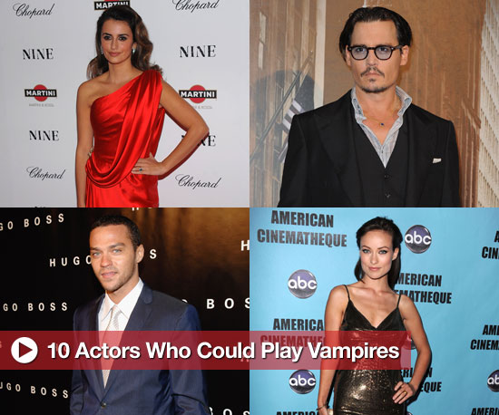 10 Actors Who Look Like Vampires