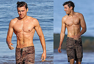 Pictures of Zac Efron Looking HOT Shirtless
