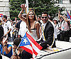 Slide Picture of Jennifer Lopez and Marc Anthony at Puerto Rican Day Parade in New York