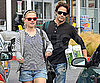 Slide Picture of Anna Paquin and Stephen Moyer at Whole Foods in LA