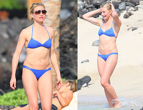 Pictures of Cameron Diaz Wearing a Bikini in Hawaii