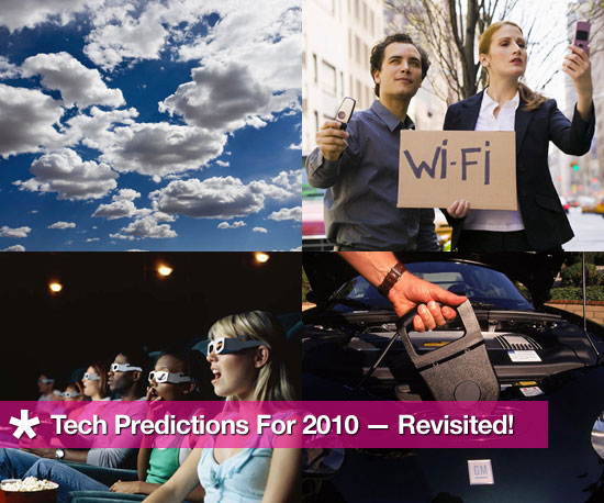 Tech Predictions For 2010 — Where Are We Now?