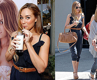 Pictures of Lauren Conrad Launching Got Milk Ad in LA 2010-06-16 02:00:00