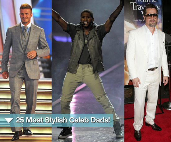 In Honor of Father's Day, Feast on These Most Stylish Dads!