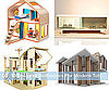 Modern Dollhouses