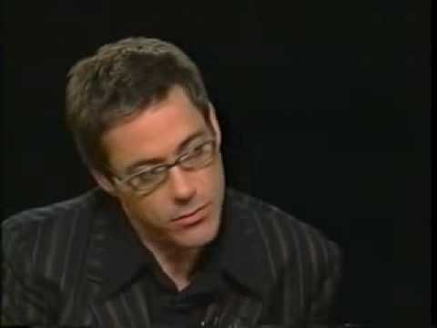 Robert Downey Jr. on Charlie Rose 2003- Part2