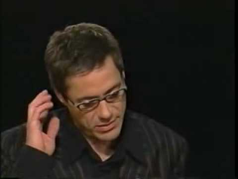 Robert Downey Jr. on Charlie Rose 2003- Part3