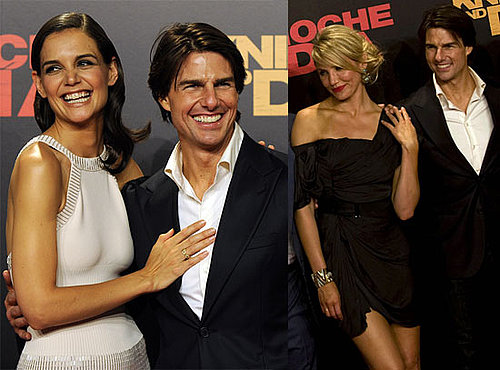 Pictures of Tom Cruise, Katie Holmes, Cameron Diaz at Knight and Day Premiere in Seville, Spain