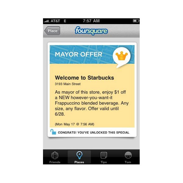 Mayors Get $1 Off Frappuccinos at Starbucks