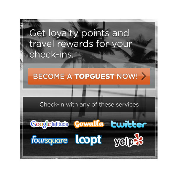 Earn Travel Reward Points With TopGuest