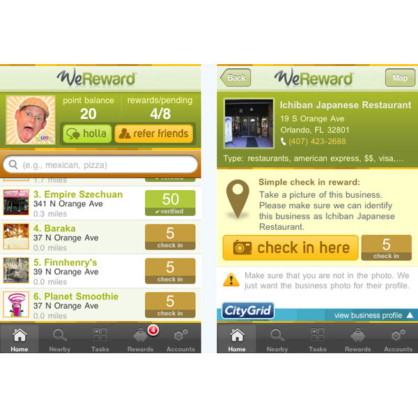 Earn Cash With WeReward