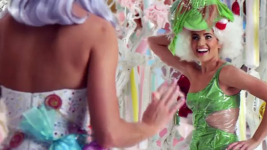 Katy saves Jello girl from an eternal life of jiggle.