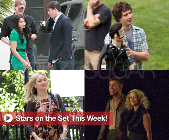 Channing Tatum, Andy Samberg, Robert Pattinson, and More in Stars on the Set This Week!