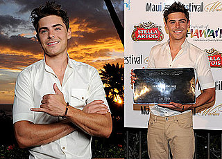 Pictures of Zac Efron at the Maui Film Festival 2010-06-17 09:15:00