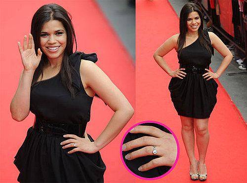 America Ferrera Engaged to Boyfriend Ryan Piers Williams 2010-06-17 13:30:00