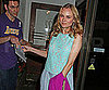Slide Picture of Diane Kruger Leaving Madeo's in LA