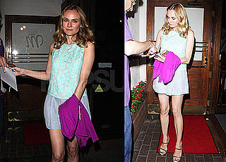 Pictures of Diane Kruger Leaving a Restaurant in LA