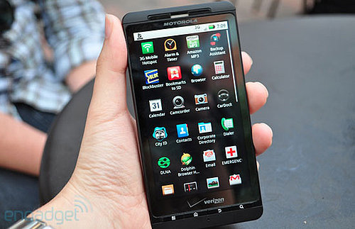 Droid X Coming With a Large Screen