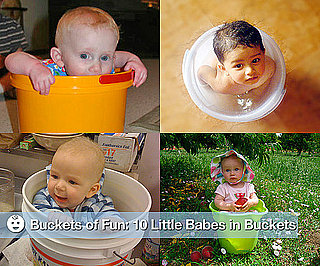 Pictures of Babies in Buckets
