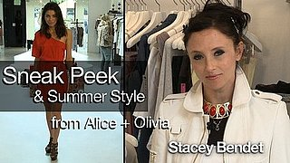 Alice + Olivia Summer Trends and Exclusive Sneak Peek