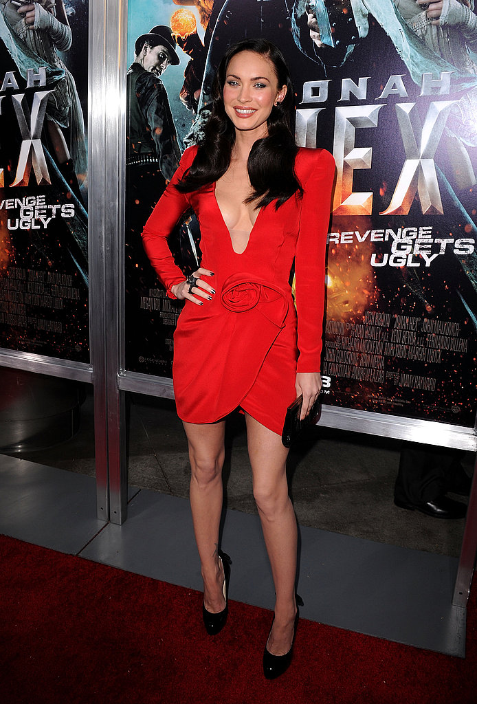 Pictures of Megan Fox at Jonah Hex Premiere