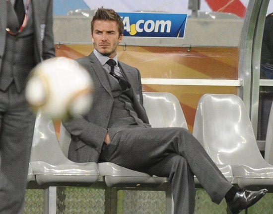 Pictures of David Beckham