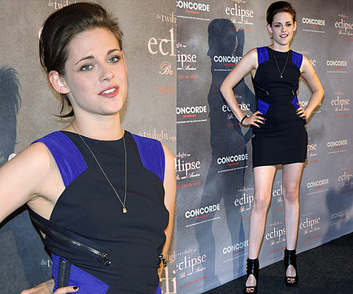 Photos of Kristen Stewart in Berlin Wearing Versace