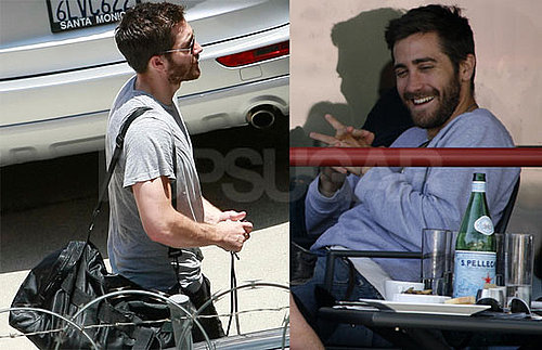 Pictures of Jake Gyllenhaal With Mom Naomi Foner in LA