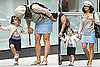 Pictures of Salma Hayek and Valentina Pinault in NYC