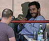 Slide Picture of Jake Gyllenhaal Having Lunch in LA