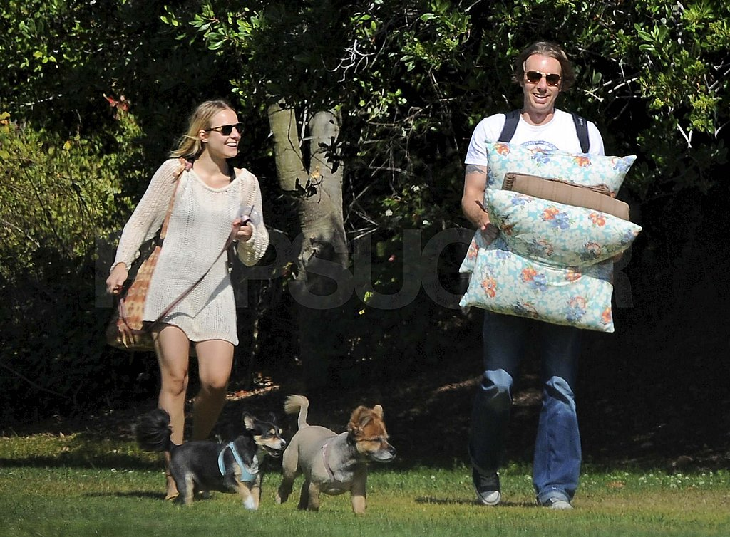 Pictures of Kristen Bell and Dax Shepard