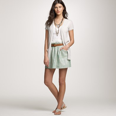 Surf Tweed Charter Skirt ($56, originally $138)