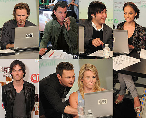 Pictures of Ryan Seacrest, Nicole Richie, Jenny McCarthy, Pete Wentz, Ian Somerhalder, and Alyssa Milano at Gulf Telethon 2010-06-22 10:00:00