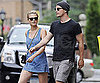 Slide Picture of Josh Hartnett and Sophia Lie in New York